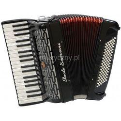 Paolo Soprani Professionale 37/96-F 37/4/11 96/5/5 Piccolo akordeon (czarny) Płacąc przelewem przesyłka gratis!