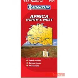 Afryka Północna i Zachodnia. Mapa w skali 1:4 000 000 (opr. miękka)