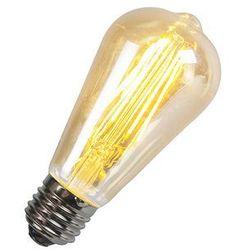 Żarówka Filament LED ST64 5W 2200K złota, ściemnialna