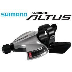 ASLM370RAS Manteka SHIMANO ALTUS SL-M370 9-rzędowa srebrna (PRAWA)