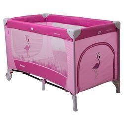 Coto Baby, Łóżeczko turystyczne, Samba, Proste, Pink Flamingo 2016 Darmowa dostawa do sklepów SMYK