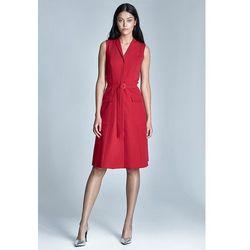 Sukienka Szmizjerka s72 - czerwony