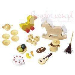 Akcesoria do domku dla lalek, 23 elementy