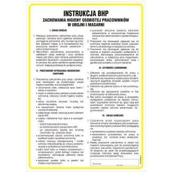 Instrukcja BHP zachowania higieny osobistej pracowników w ubojni i masarni