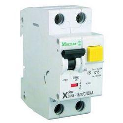 Wyłącznik różnicowoprądowy, różnicówka z modułem nadprądowym CKN6-6/1N/C/003 EATON-MOELLER