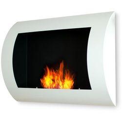 Biokominek dekoracyjny 60x45 cm biały Convex by EcoFire