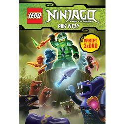 LEGO NINJAGO. ROK WĘŻY, CZĘŚCI 1-3 PAKIET (3 DVD) GALAPAGOS Films 7321997610045
