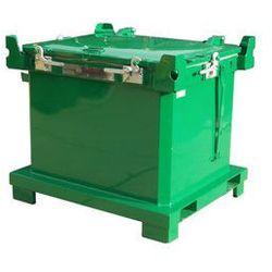 Pojemnik na odpady niebezpieczne na akumulatory