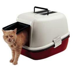 Ferplast Magix kuweta kryta przesiewowa z filtrem węglowym dla kotów