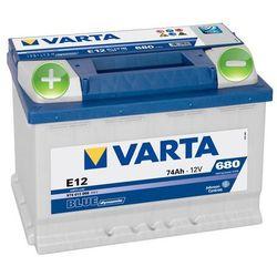 Akumulator VARTA BLUE Dynamic E12 - 12V 74Ah 680A (EN) +L