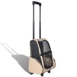 Składany wielofunkcyjny wózek na zwierzaki beżowy Zapisz się do naszego Newslettera i odbierz voucher 20 PLN na zakupy w VidaXL!