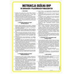 Instrukcja ogólna BHP w szkołach i placówkach publicznych
