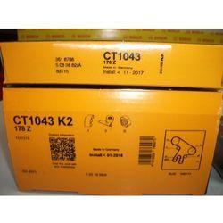 CT1043K2 CONTI zestaw pasków rozrządu TOYOTA AVENSIS 2.0 D-4D 99-