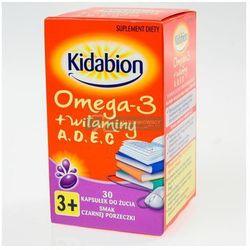 Kidabion o sm. czarnej porzeczki x 30 kaps.do żucia