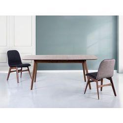 Stół brązowy - rozkładany - 150-190x90 cm - kuchenny - do jadalni - MADOX