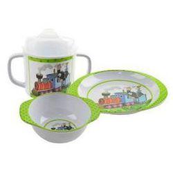 Zestaw obiadowy dla dzieci Orion Krtek Biała