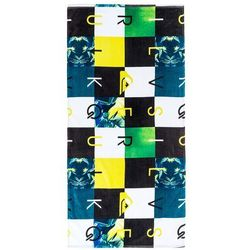 ręcznik plażowy Quiksilver Checkmate Towel - GGP0/Sulphur Spring