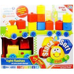 Zabawka SWEDE Zabawka SWEDE Q1623 Pociąg z klockami