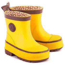 REIMA Naba - Żółte Gumowe Kalosze Dziecięce - 569278-2350