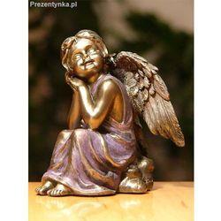 Zamyslony aniołek