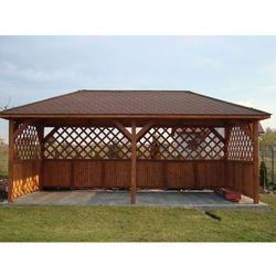 Altana ogrodowa Turyn 3000 x 6000 z montażem