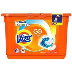 VIZIR 438g Go Pods Sensitive Clothes Kapsułki do prania (15 prań)