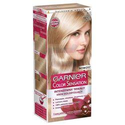 Garnier Color Sensation Intensywnie trwały krem koloryzujący do włosów Krystaliczny Beżowy Jasny Blond nr 9.13
