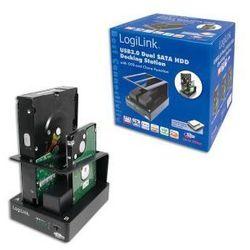 Stacja dokująca LogiLink QP0010 2xHDD SATA, USB 3.0, OTB