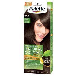Palette Permanent Natural Colors, Farba do włosów, 700 Średni brąz