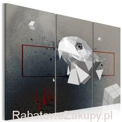 Obraz - orzeł - 3D - tryptyk