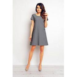 e58675c1c3 suknie sukienki sukienka rozkloszowana esso czarna (od Szafirowa ...