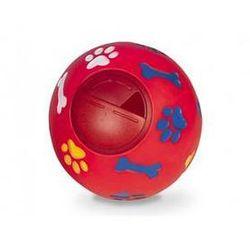 Zabawka dla zwierząt Nobby Snack Ball 14,5cm Czerwona