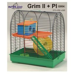 Inter-Zoo klatka dla chomika Grim II z wyposażeniem
