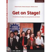 Get on Stage! Teacher's Book + DVD-ROM Sketches And Plays For Young Learners And Teenagers (opr. miękka)