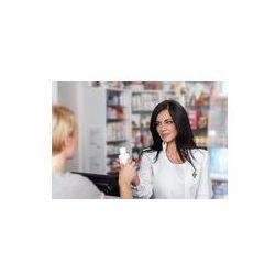 Foto naklejka samoprzylepna 100 x 100 cm - Farmaceuta w aptece lek sprzedaży