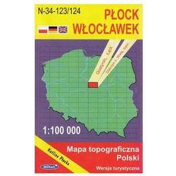 WZKart: PŁOCK WŁOCŁAWEK 1:100 000 mapa topograficzna Polski wydanie turystyczne (opr. miękka)