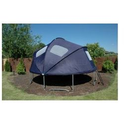 EURO 457 cm (15ft) - Trampolina ogrodowa z namiotem i drabinką