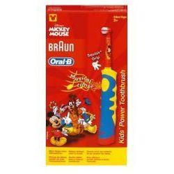 BRAUN Oral-B Kids Power D10.513K Szczoteczka elektryczna dla dzieci z motywem Myszki Miki