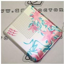 Obudowa Sony Ericsson S500i tylna / pokrywa baterii flowers