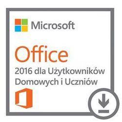 Microsoft Office 2016 dla Użytkowników Domowych i Uczniów 32/64 Bit All Lang ESD
