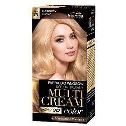 Farba do włosów Joanna Multi Cream Color naturalny blond 33