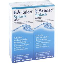 Artelac Splash Mdo krople do oczu 2X15 ml