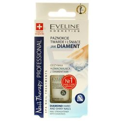 Eveline Nail Therapy Odżywka do paznokci wzmacniająca z diamentem 12 ml
