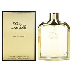Jaguar Classic Gold woda toaletowa dla mężczyzn 100 ml + do każdego zamówienia upominek.