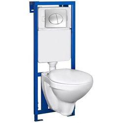 NOVOTERM K50 SATYNA Zestaw podtynkowy do WC