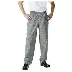 Spodnie | mała czarna kratka | rozmiary XS-XXL