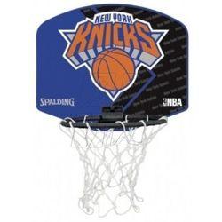 Mini tablica SPALDING New York Knicks z piłką