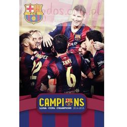 FC Barcelona Potrójna Korona - plakat