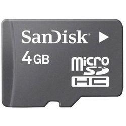 Karta SANDISK microSDHC/4GB