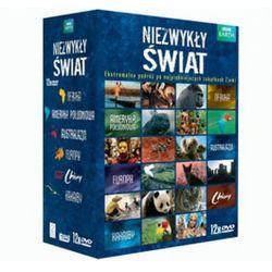 Niezwykły świat box 12dvd - afryka, ameryka południowa, australazja, chiny, europa, karaiby